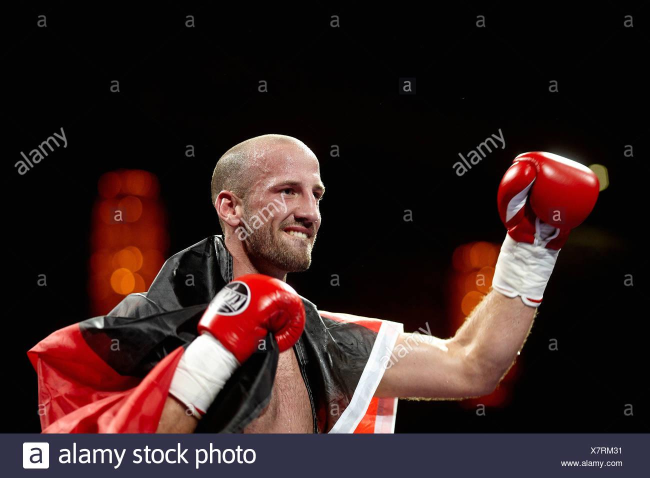 Timo Herzberg, Profi Thai and Kickboxing Gala, Koblenz, 13.10.2012, Koblenz, Rhineland-Palatinate - Stock Image
