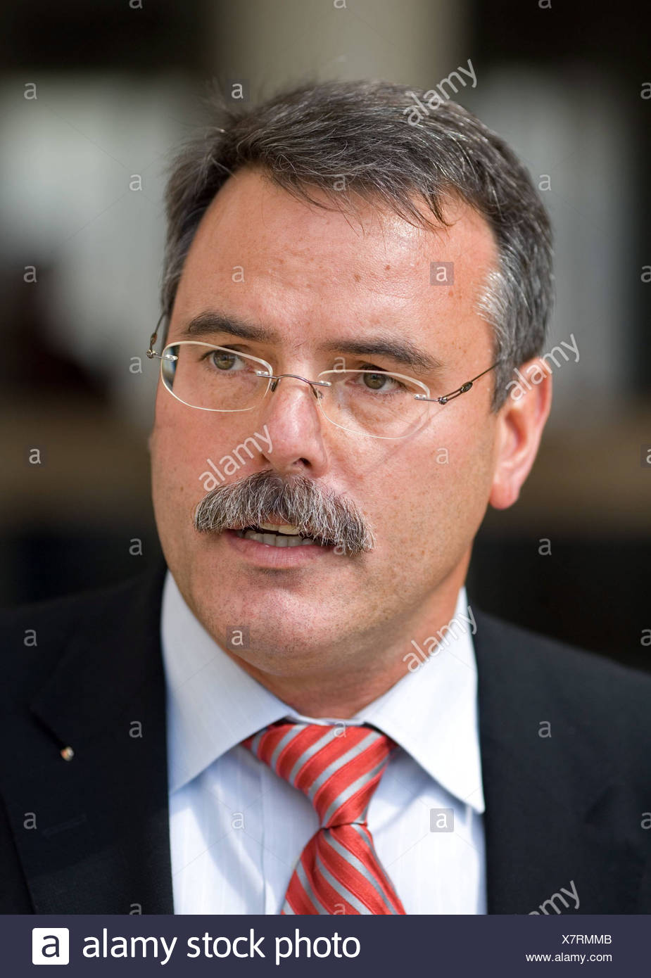 Bernhard Gerster chief operating officer of the science park in Koblenz, Rhineland-Palatinate Germany - Stock Image