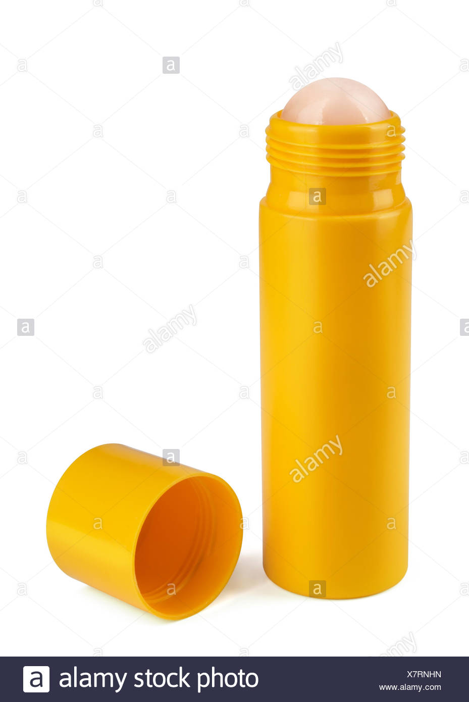 Roll-on deodorant - Stock Image
