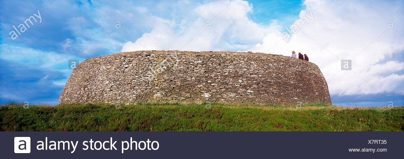 Celtic Archaeology, Grianan Of Aileach, Donegal/Derry Border - Stock Image