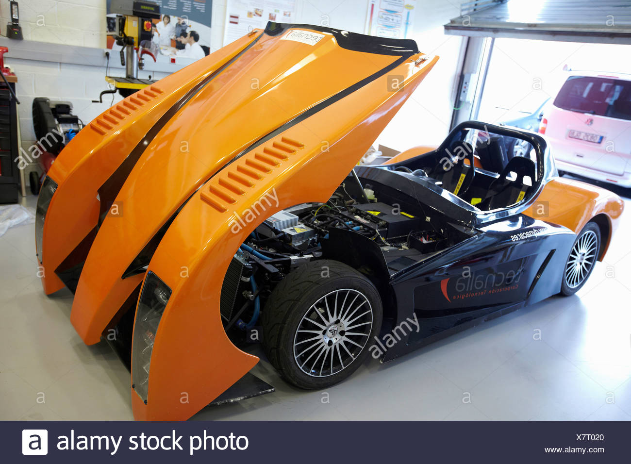Dynacar Electric Car New Concepts And Components Development Platform For Electric Propulsion Vehicles Tecnalia Research Stock Photo Alamy
