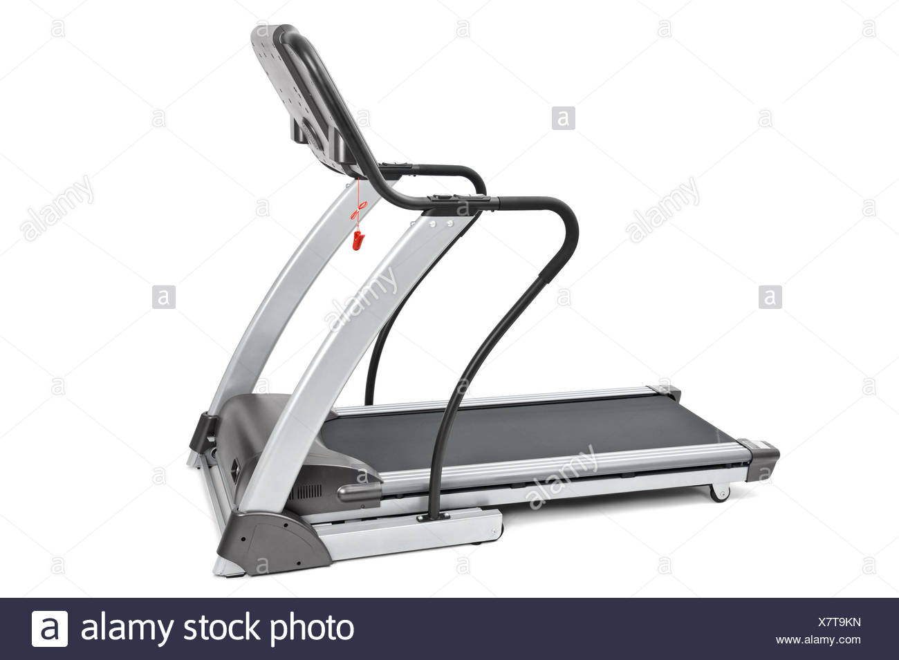 gym equipment, spinning machine for cardio workouts - Stock Image