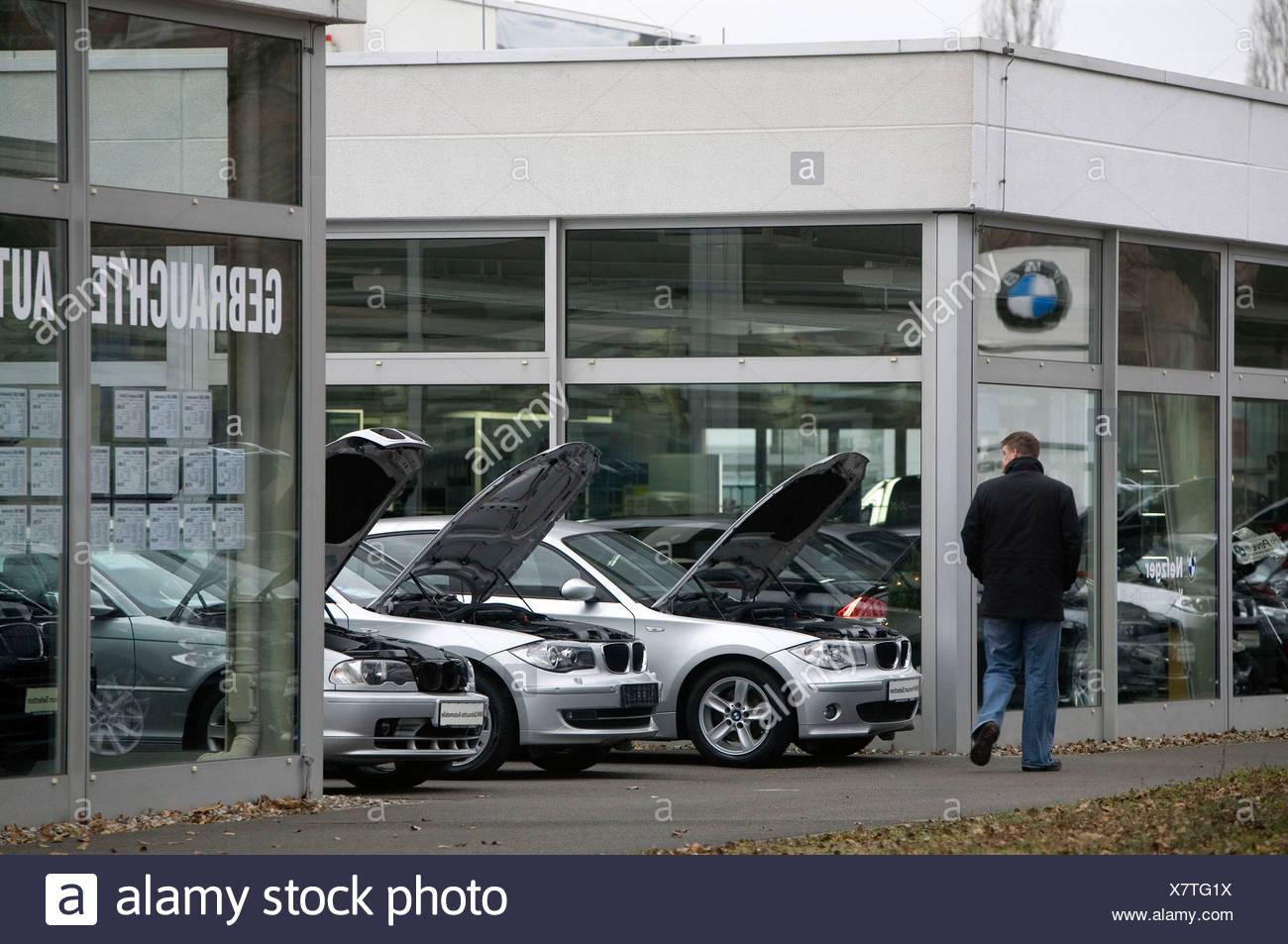 used car - Stock Image