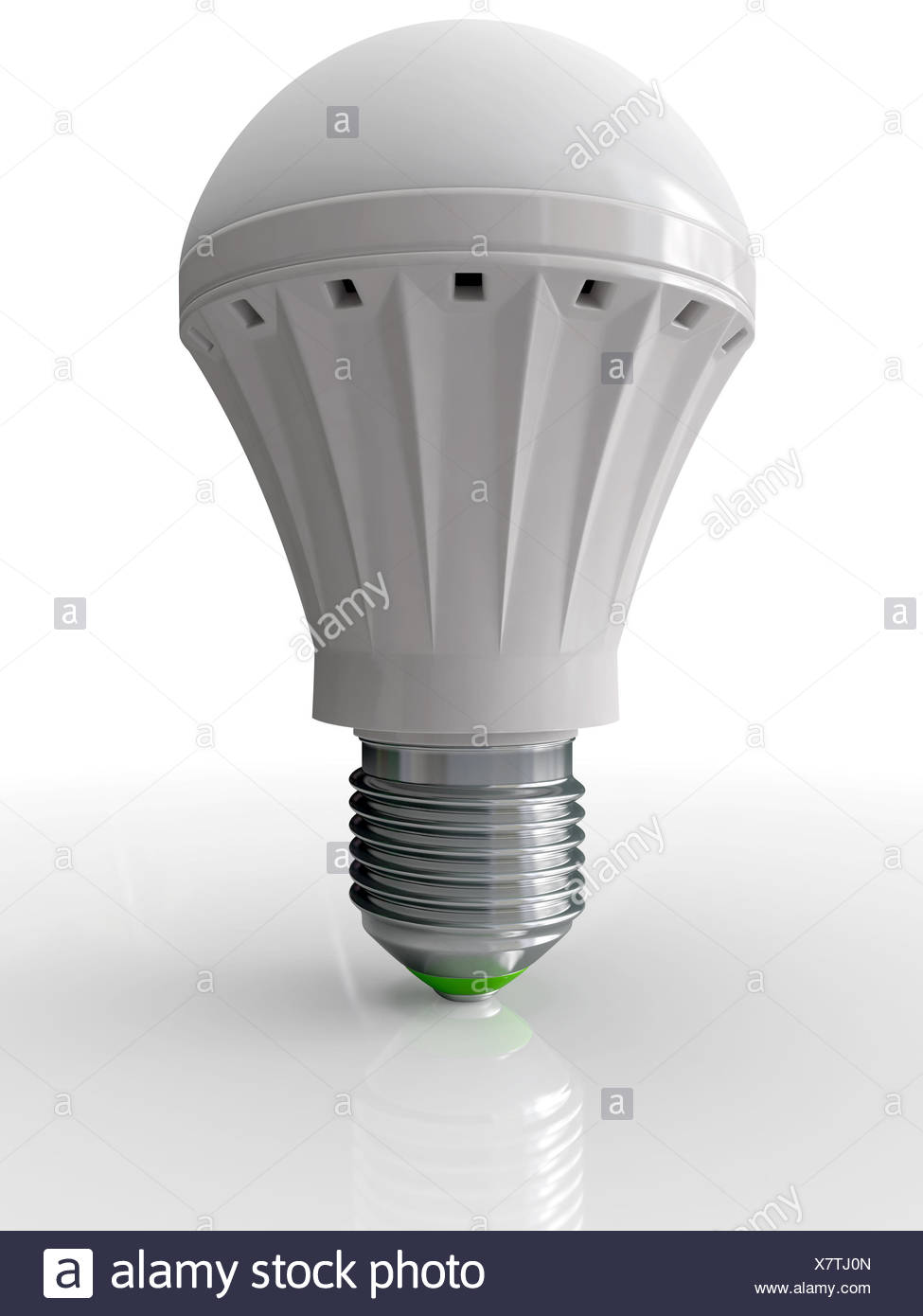 Modern bulb for illumination - Stock Image