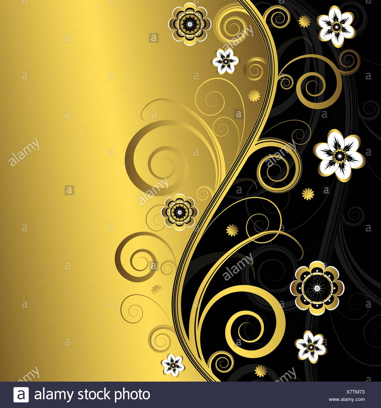 Floral Elegant Background Stock Photo 280211207 Alamy