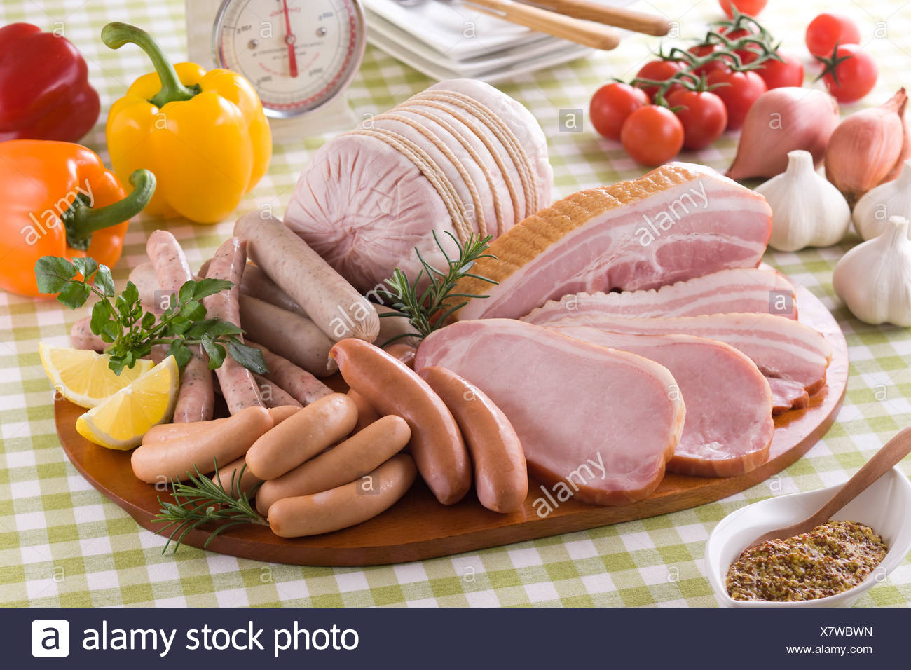 processed meat stock photos processed meat stock images alamy