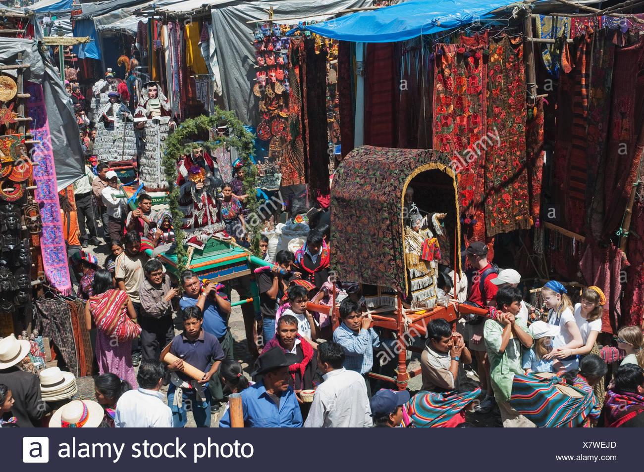 Guatemala,Guatemalan,Beliefs,Catholic Stock Photo