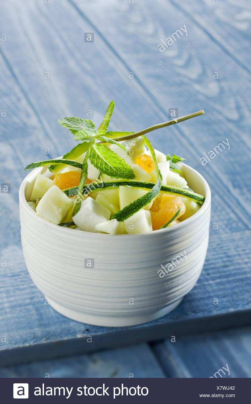 Turkish-style salad - Stock Image