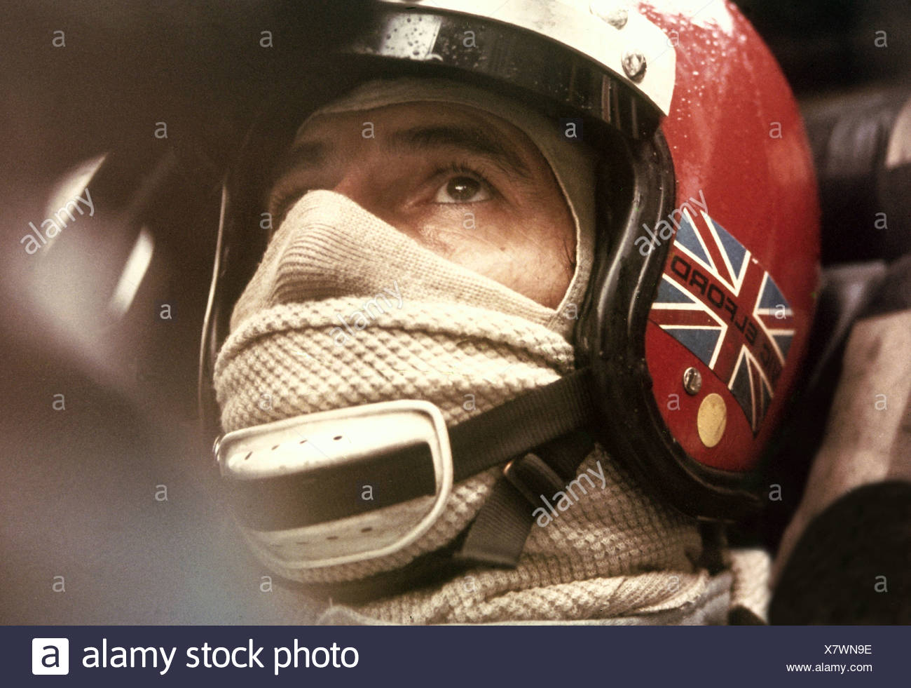 Elford, Vic, * 10.6.1935, Britain athlete, (automobile racer), racing car, Monza, 1971, Additional-Rights-Clearances-NA - Stock Image