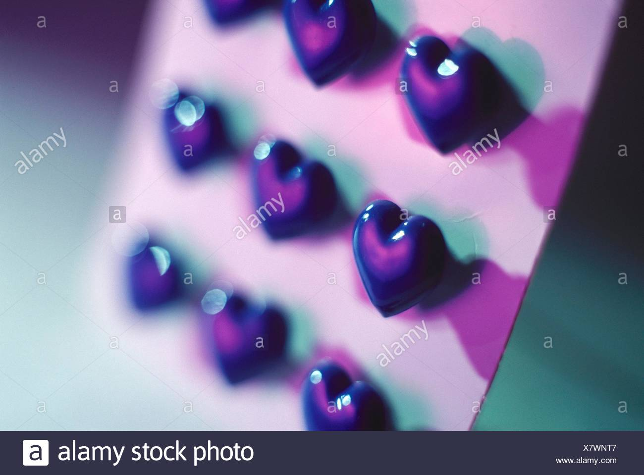 Heart shaped buttons Stock Photo: 280234423 - Alamy