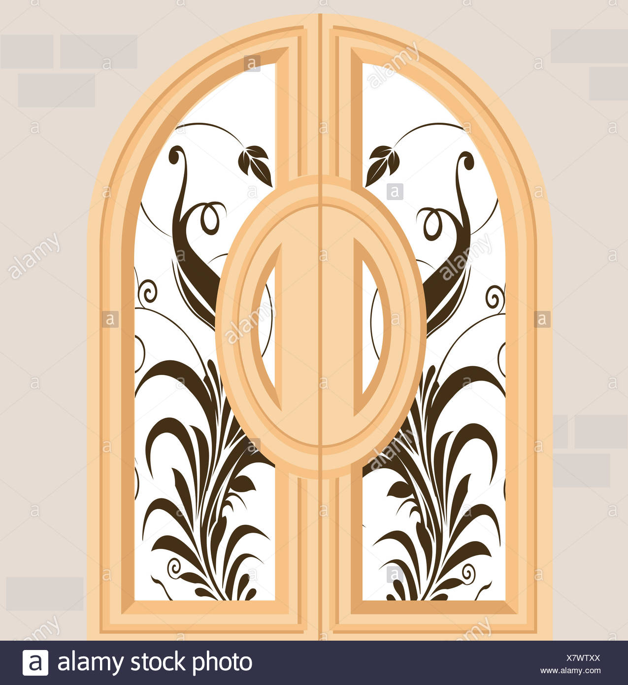 Fantastic Arched Window Wall Decor Gift - The Wall Art Decorations ...