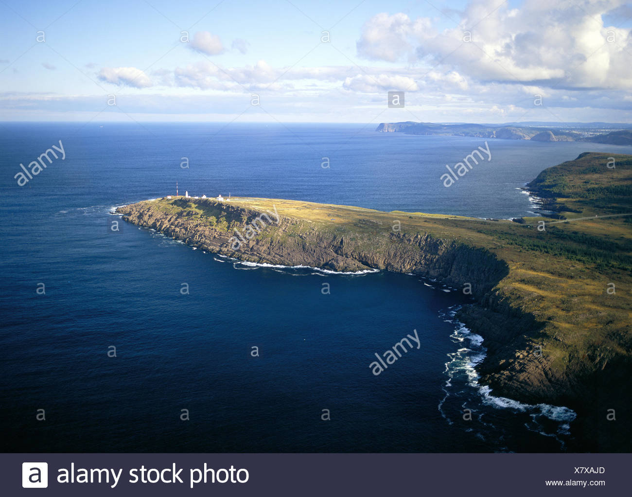 Cape Spear  easternmost point of North America, E of St John's, Newfoundland - Stock Image