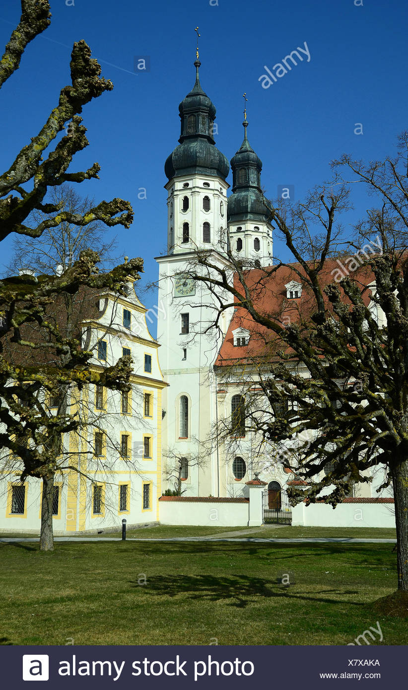 Kloster Obermarchtal - Stock Image