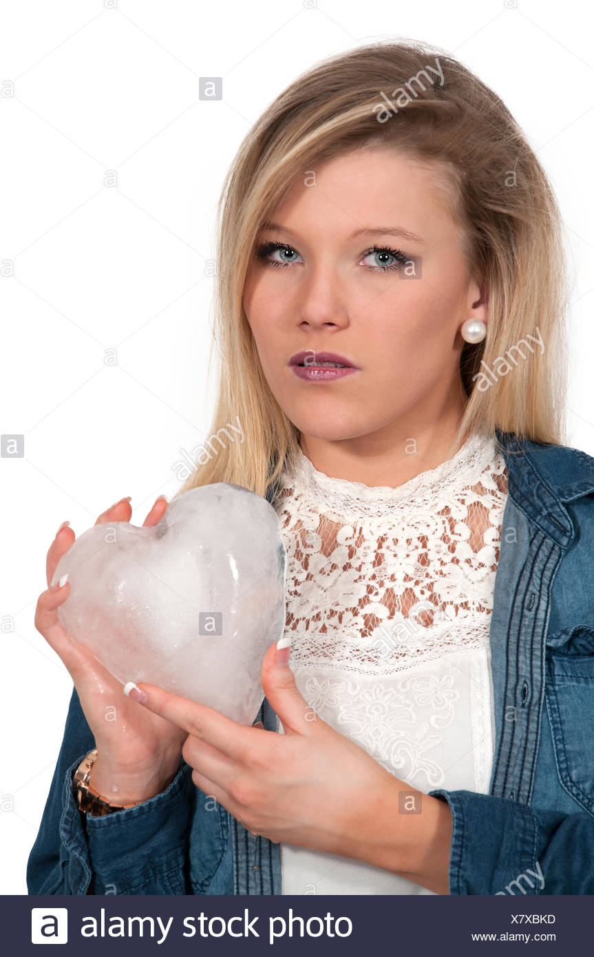 Cold Hearted Woman - Stock Image