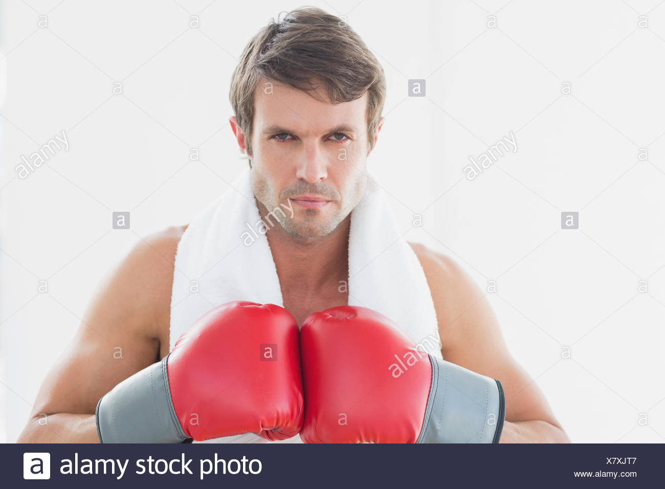 Mid Adult Man Boxing Stock Photos   Mid Adult Man Boxing Stock ... fed2237d54