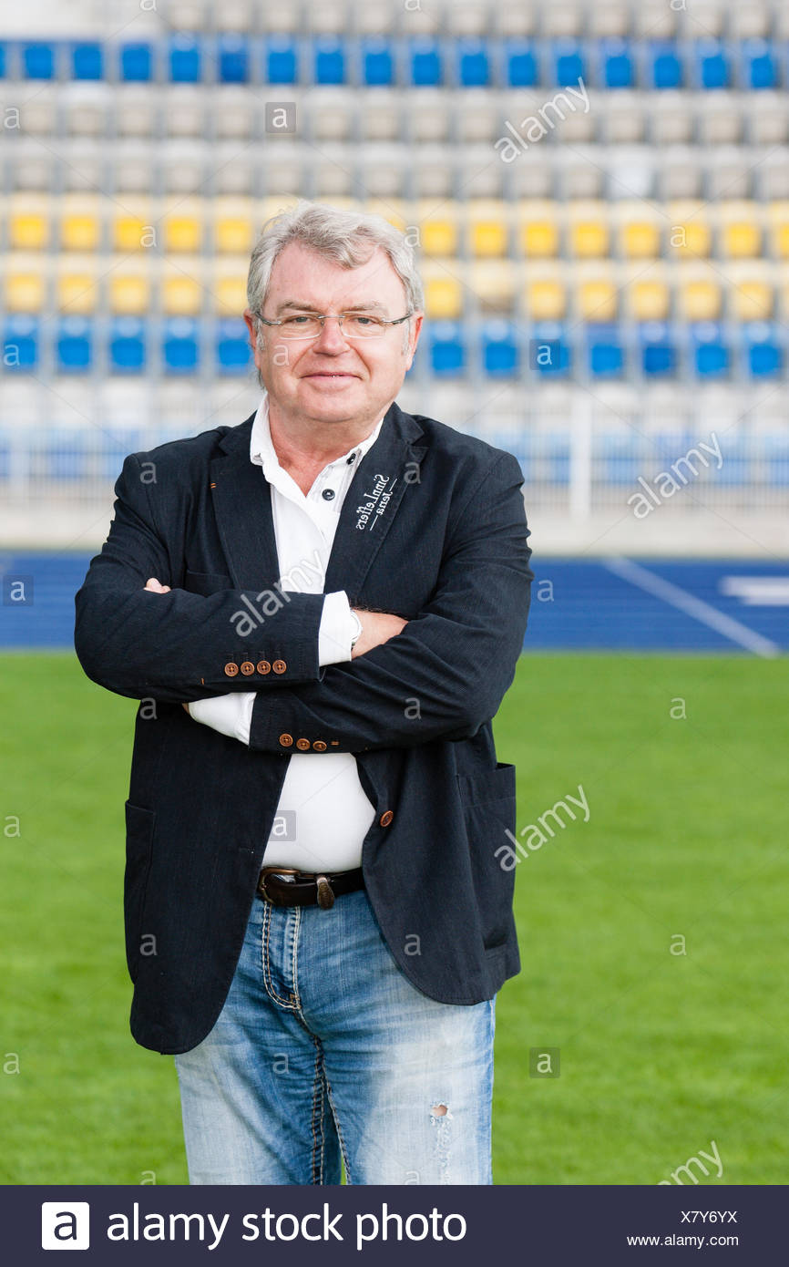 Arnd Vogel (Präsident) - Stock Image