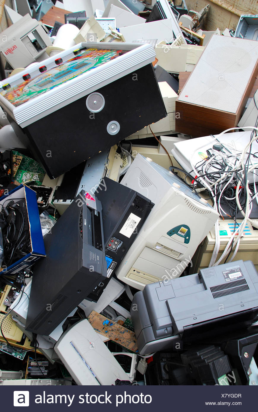 Recycling 080716 2 Stock Photo
