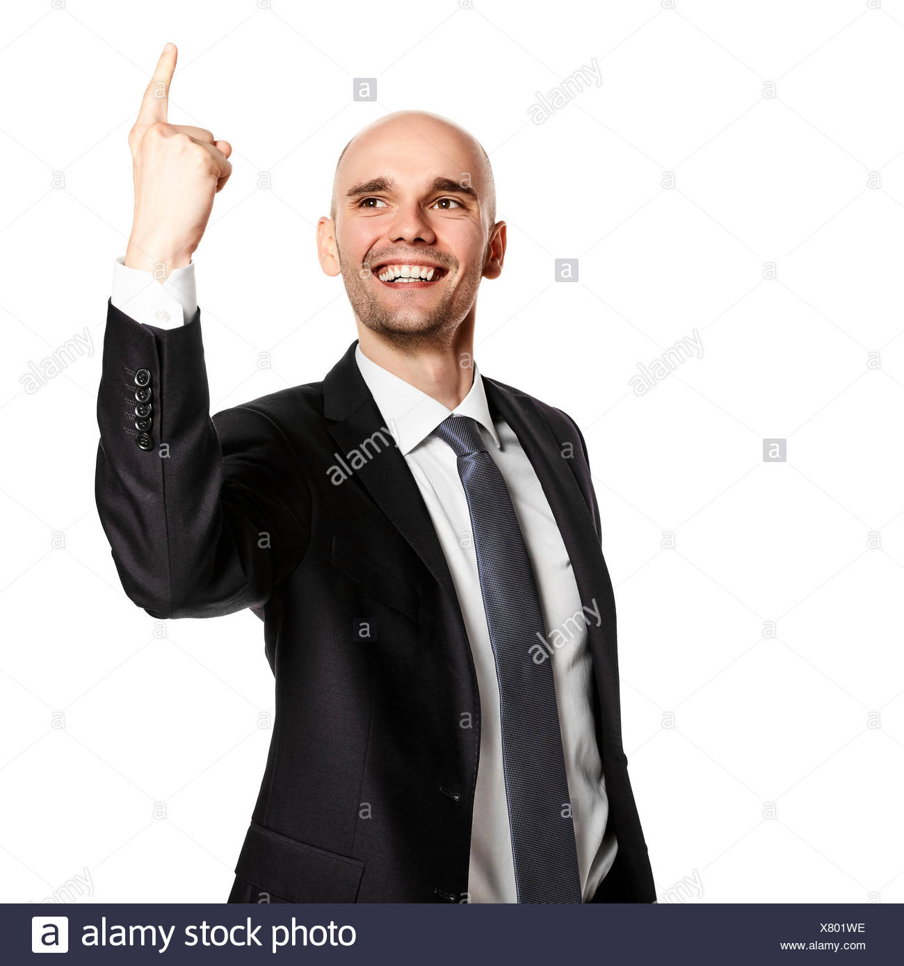 Happy Young Man - Stock Image