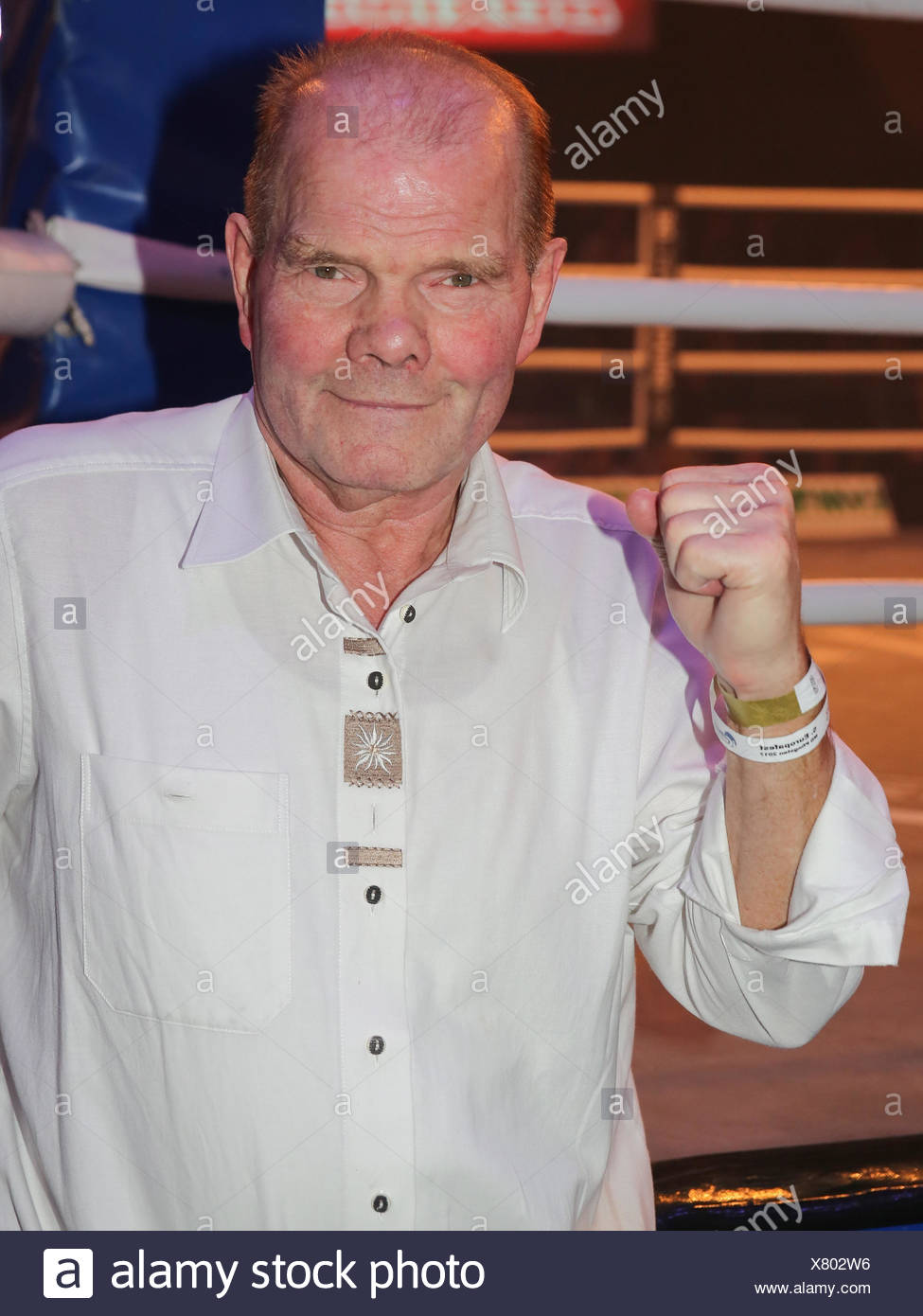 Heavyweight boxing legend Jürgen Blin - Stock Image