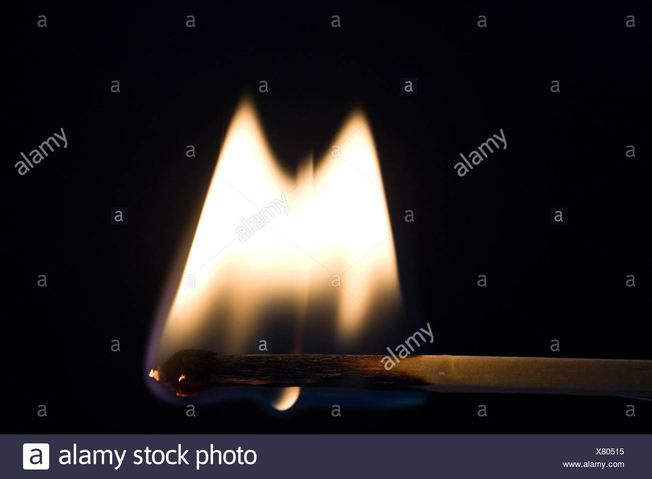 fire, conflagration, to burn down, match, matches, kindle, burn, smoke, Stock Photo