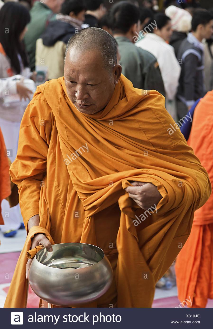 Monk - Stock Image