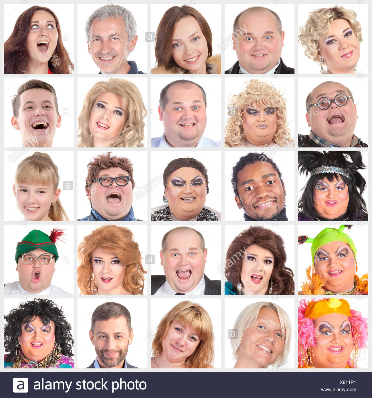 happy human faces stock photos happy human faces stock images alamy