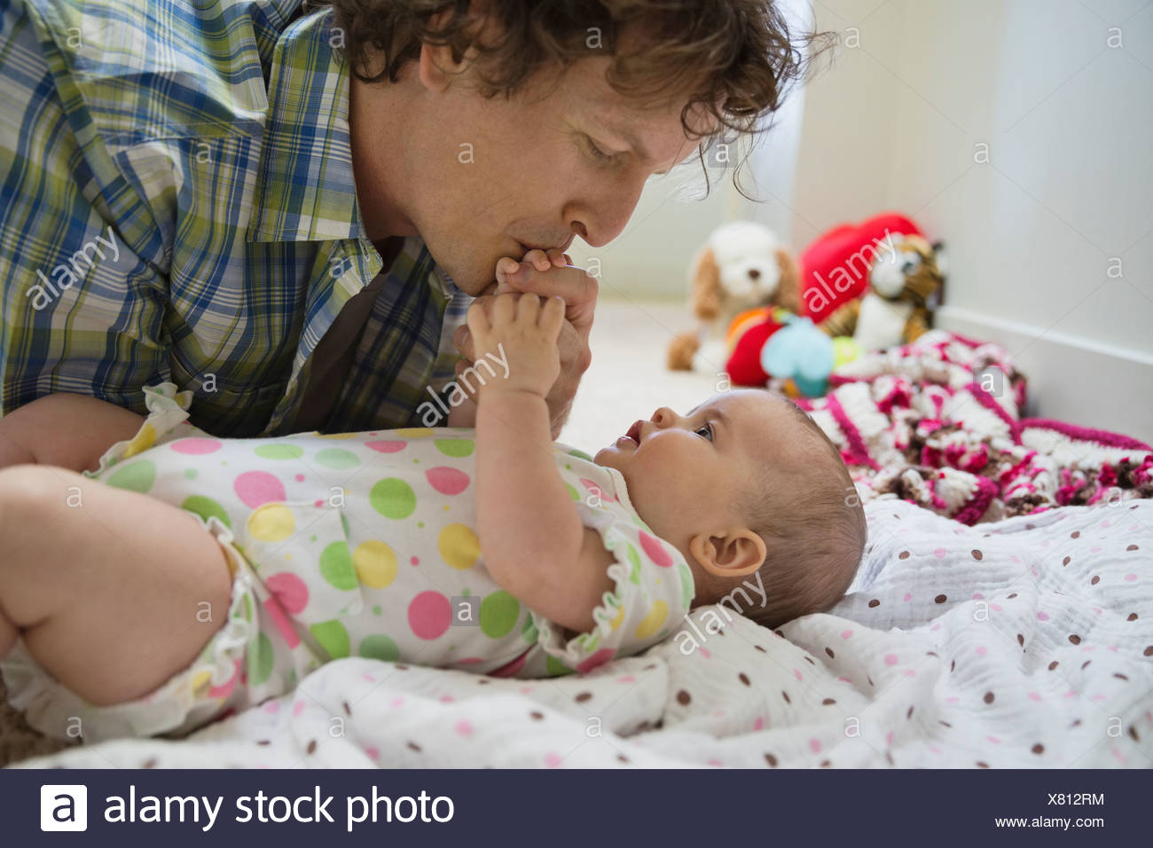 baby girls stock photos & baby girls stock images - alamy