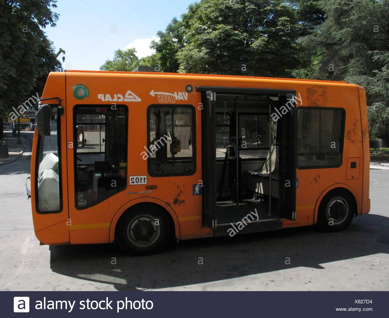 Italian minibus - Stock Image
