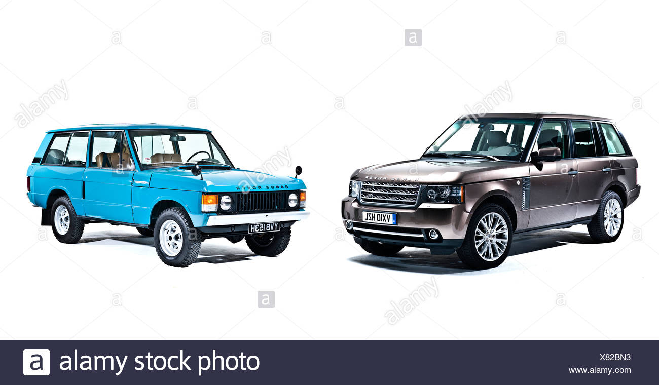 40 Years of Range Rover, London, 19 11 2010 - Stock Image