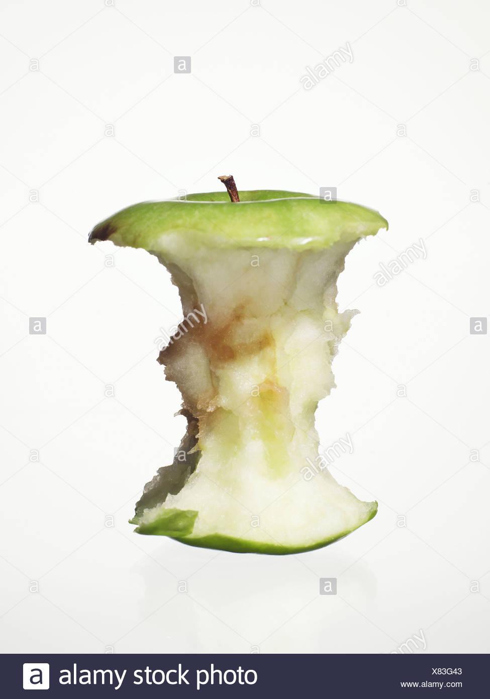 Apple-core. - Stock Image