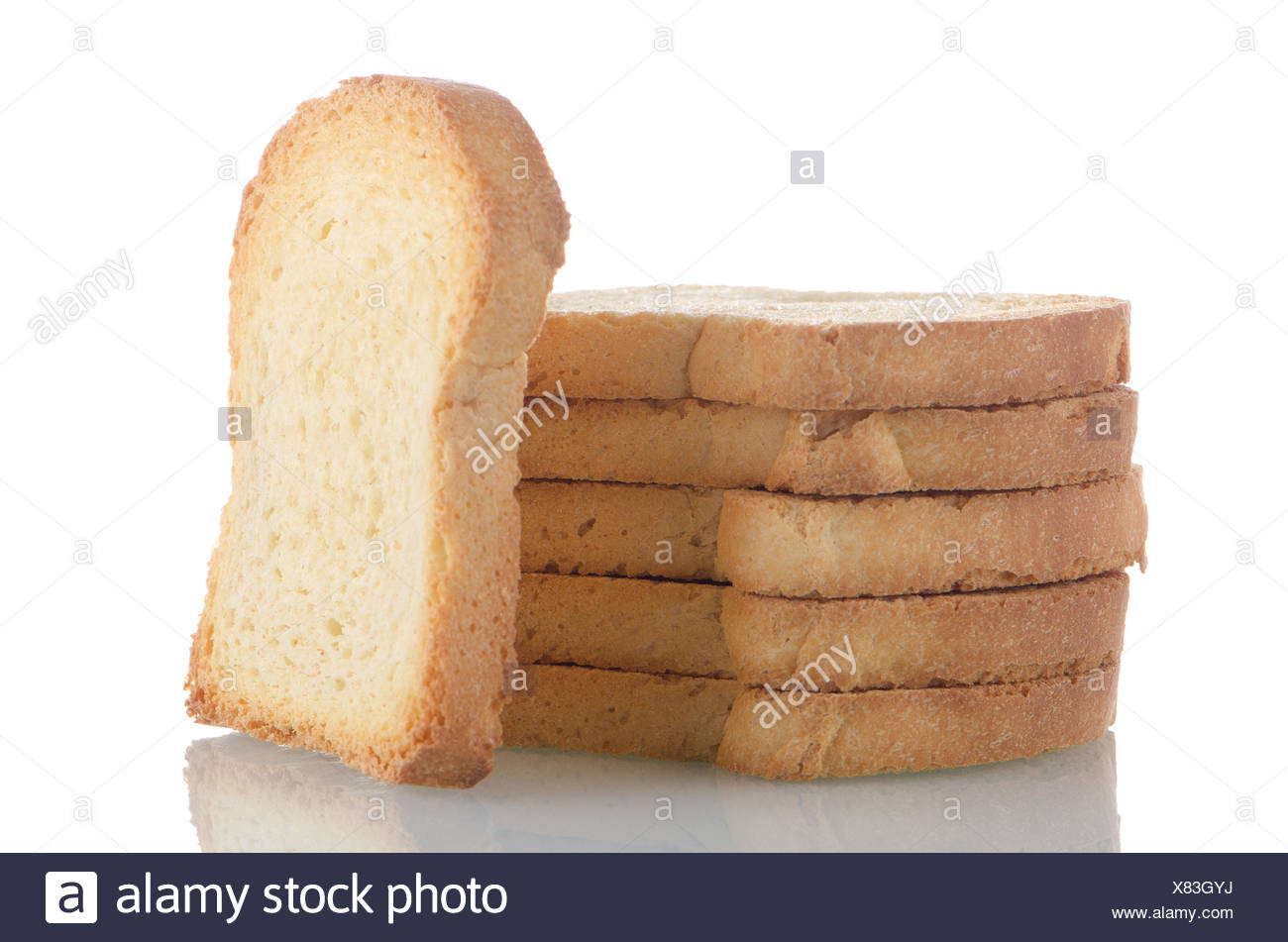 Pile Of Brown Toast Stock Photos Pile Of Brown Toast Stock