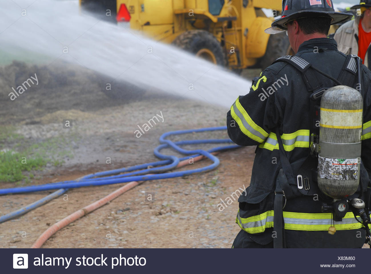Fire Fighter Stock Photos Amp Fire Fighter Stock Images Alamy