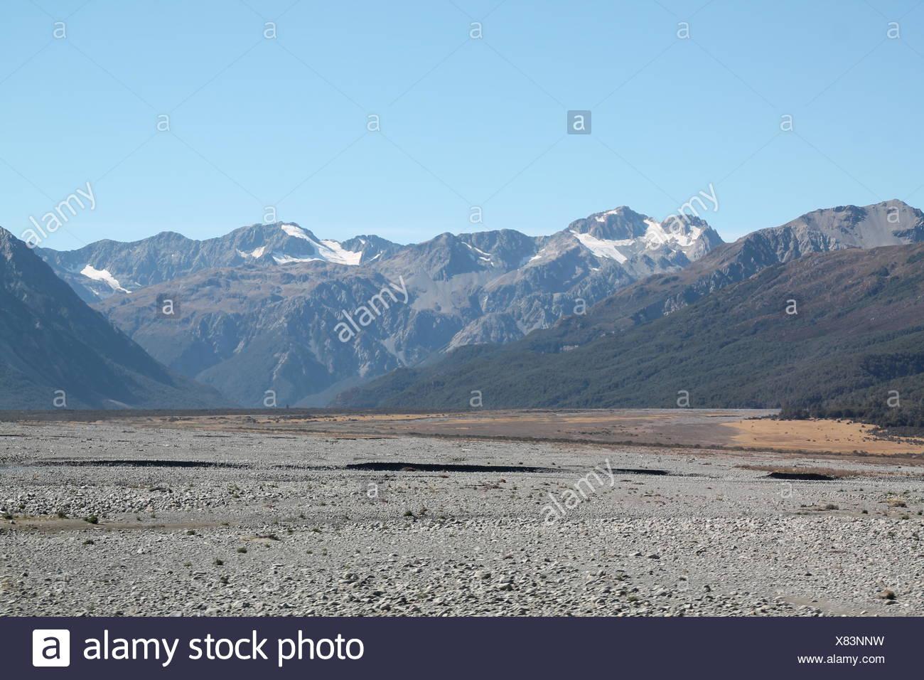 Arthur's Pass, New Zealand - Stock Image