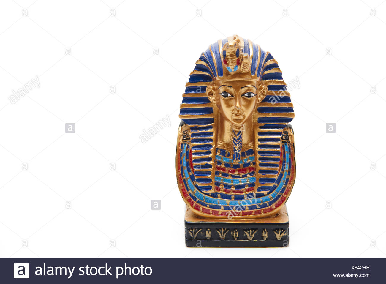 Tutankhamun Cut Out Stock Images & Pictures - Alamy