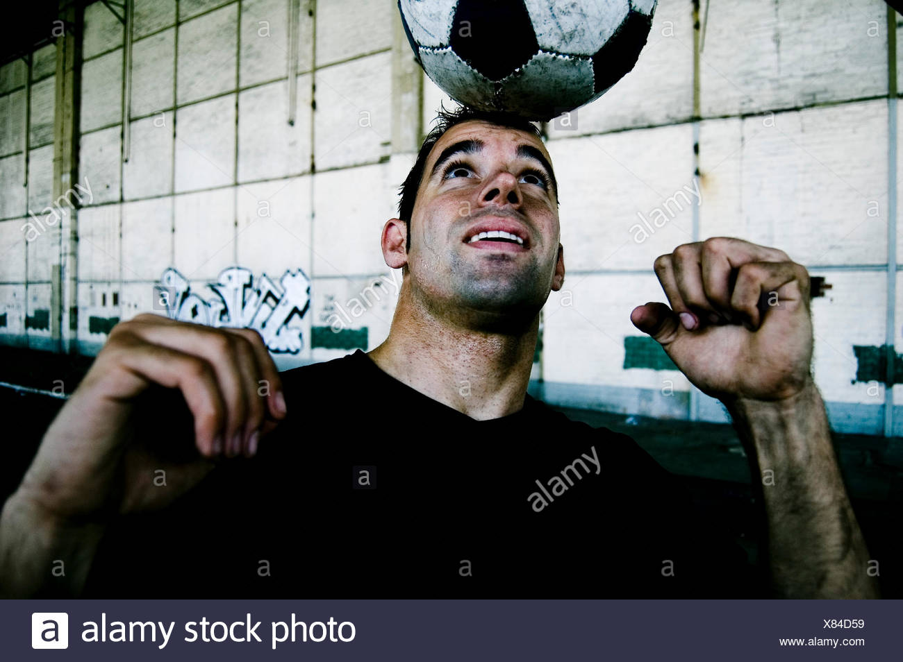 soccer,balance Stock Photo
