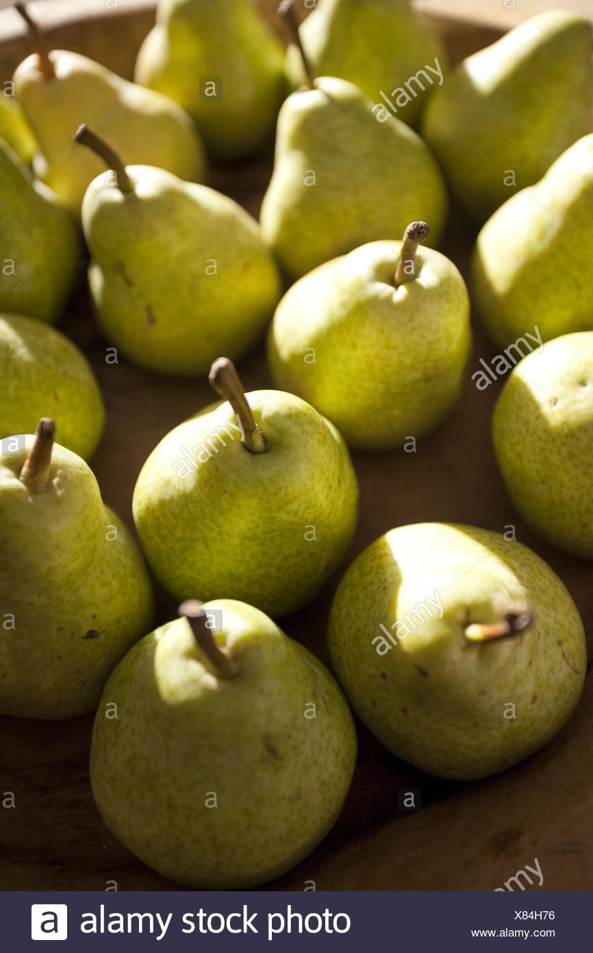 Pears, ripe, eatable, - Stock Image