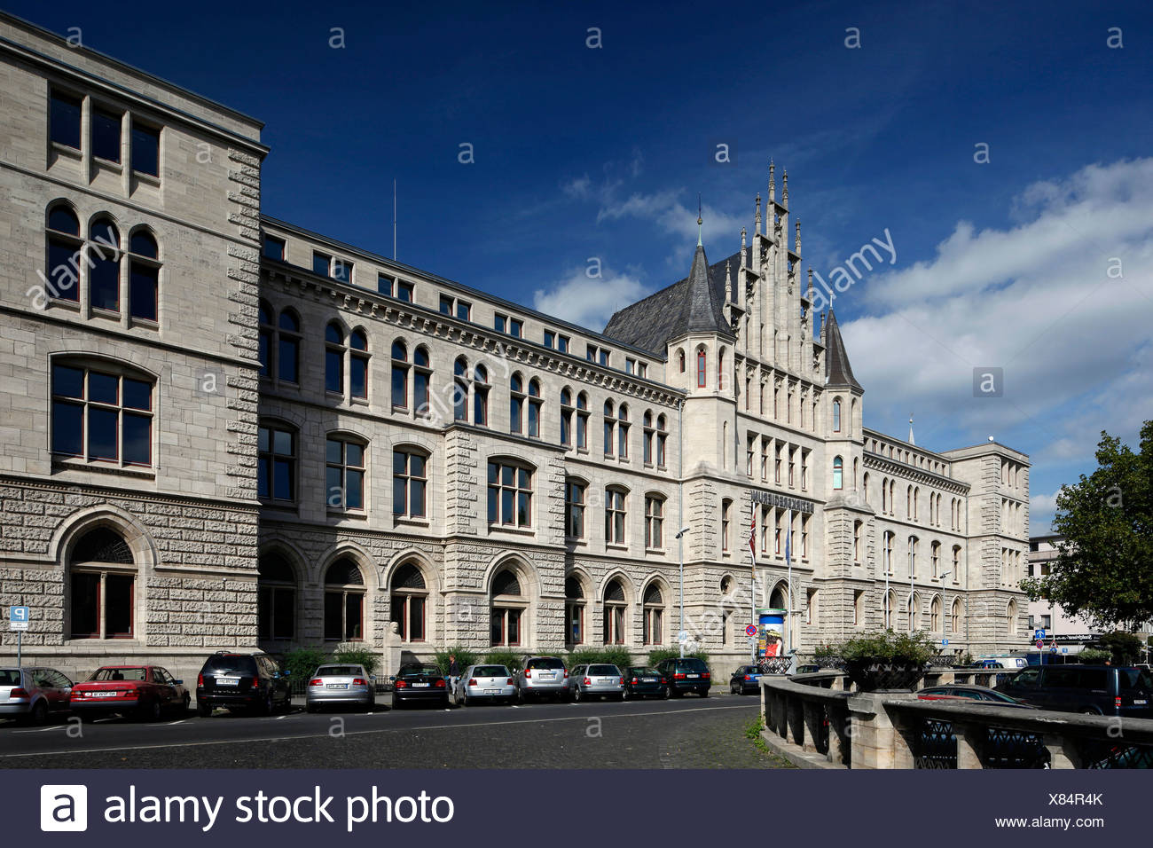 District government of Braunschweig, Braunschweig, Lower Saxony, Germany, Europe - Stock Image