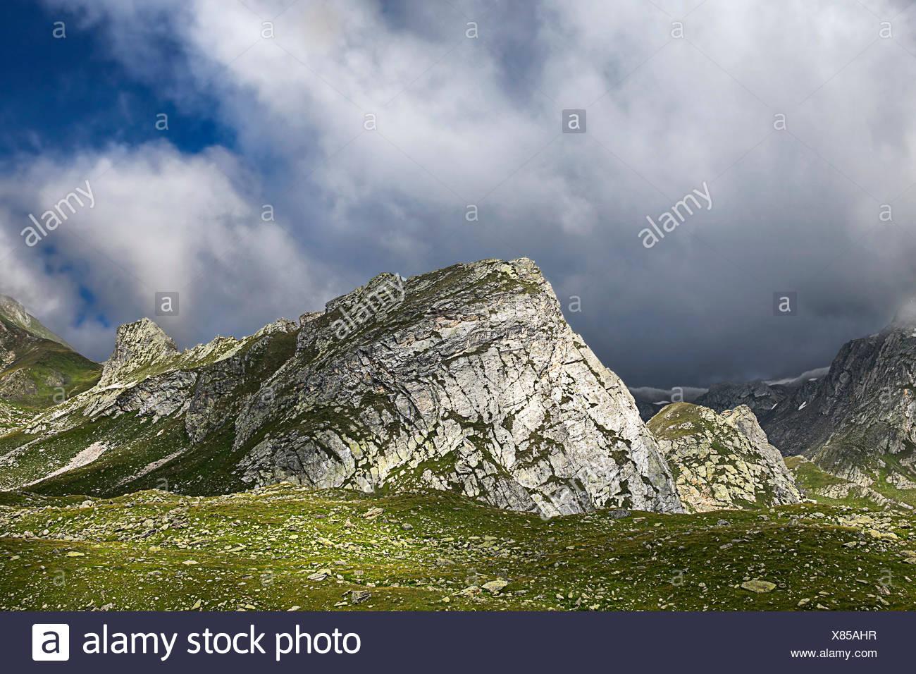 mountain italy - Stock Image