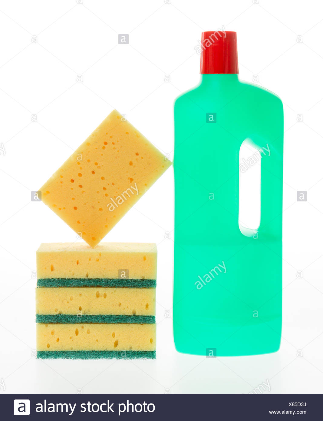 House cleaning product Stock Photo