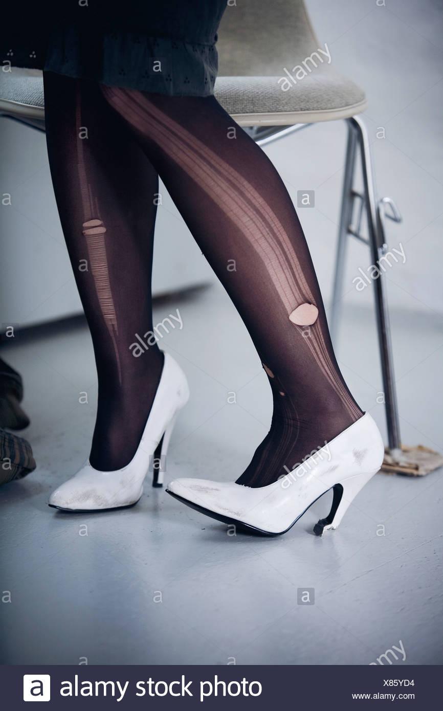 damen in nylons