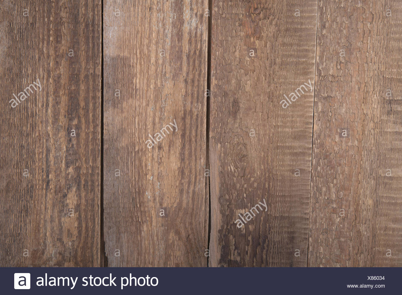 Background of old wooden planks. - Stock Image