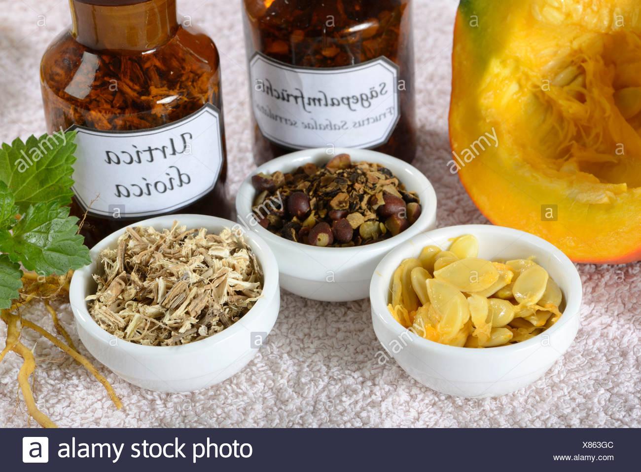 Prostate medicine - Stock Image