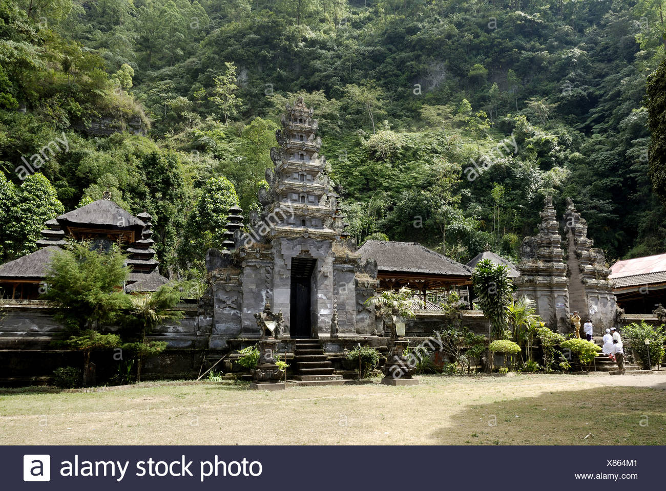 Pura Batur (Kintamani) - Bali, Indonesia - Stock Image