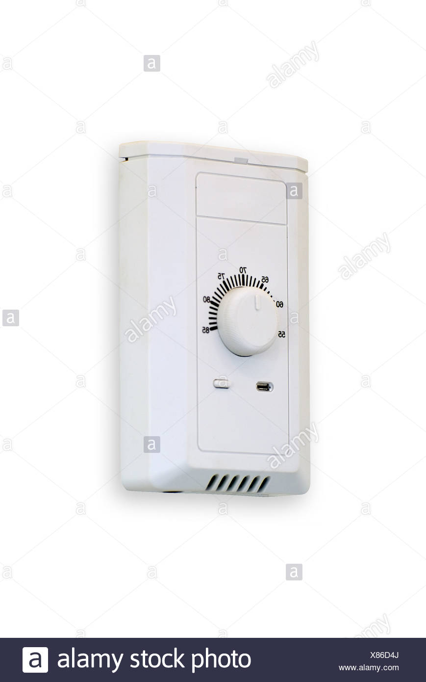 heating and air conditioning - Stock Image