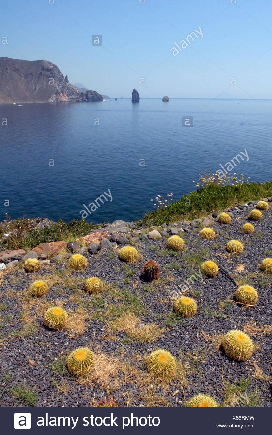 Aeolian Islands - Stock Image