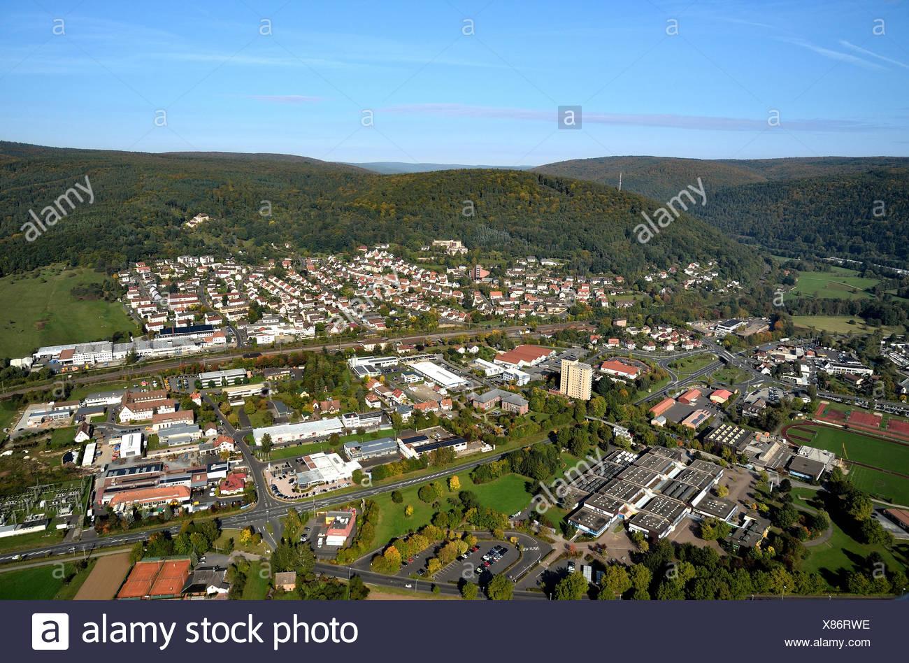 Lohr - Lindig settlement - Stock Image