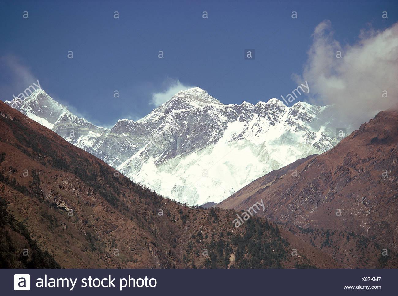 Mount Everest - Stock Image