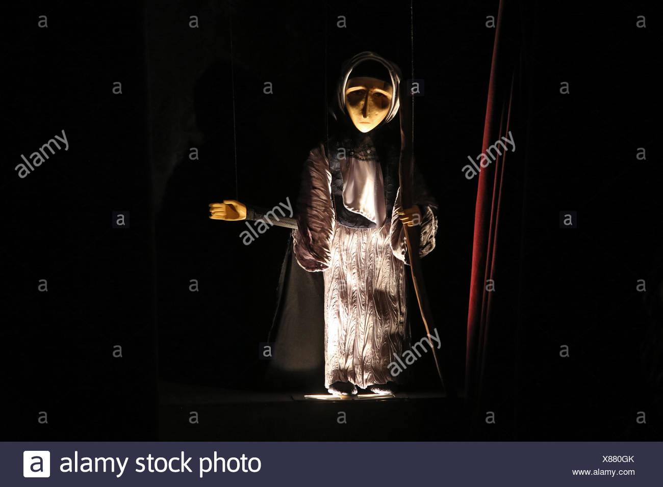 Zuerich, Switzerland, puppet - Stock Image