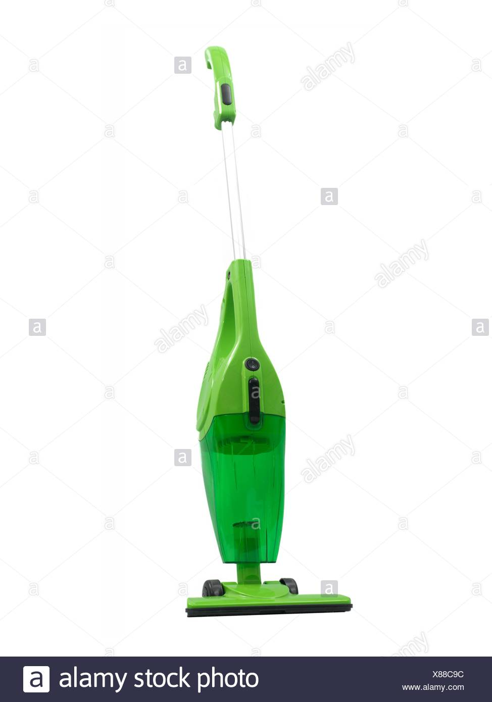 A vacuum cleaner isolated against a white background - Stock Image