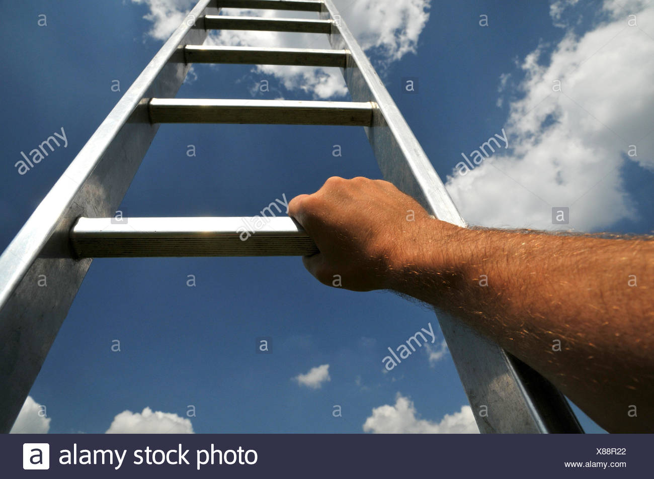 rise up - Stock Image